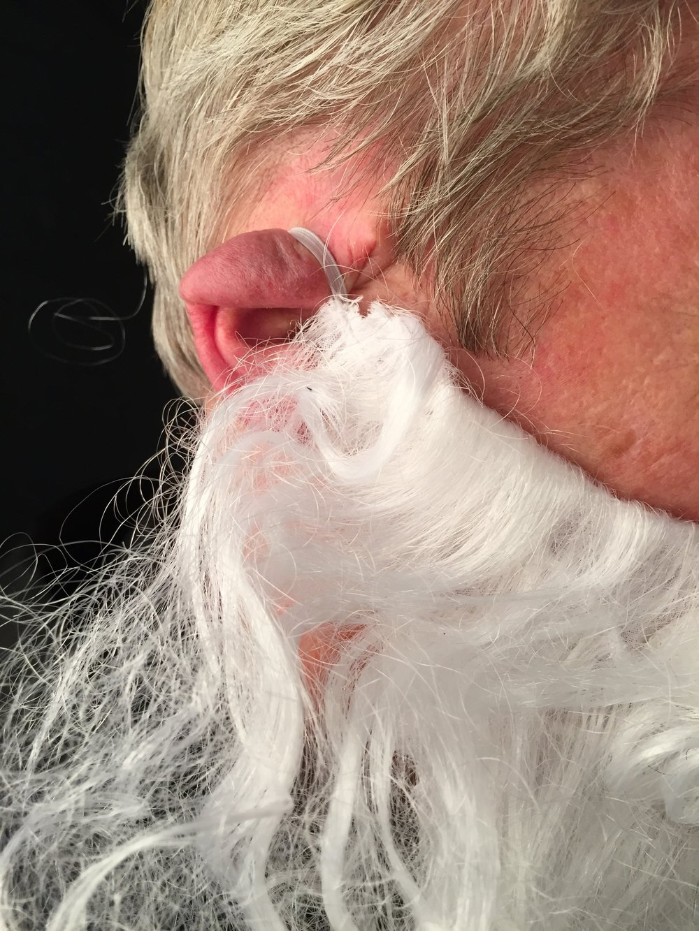 The dangers of wearing a false beard can be extreme...
