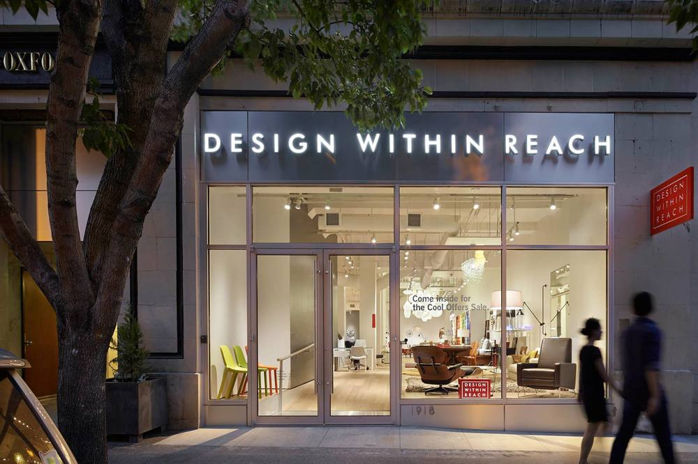 Design Within Reach Storefront. Design Within Reach   Josh Brincko