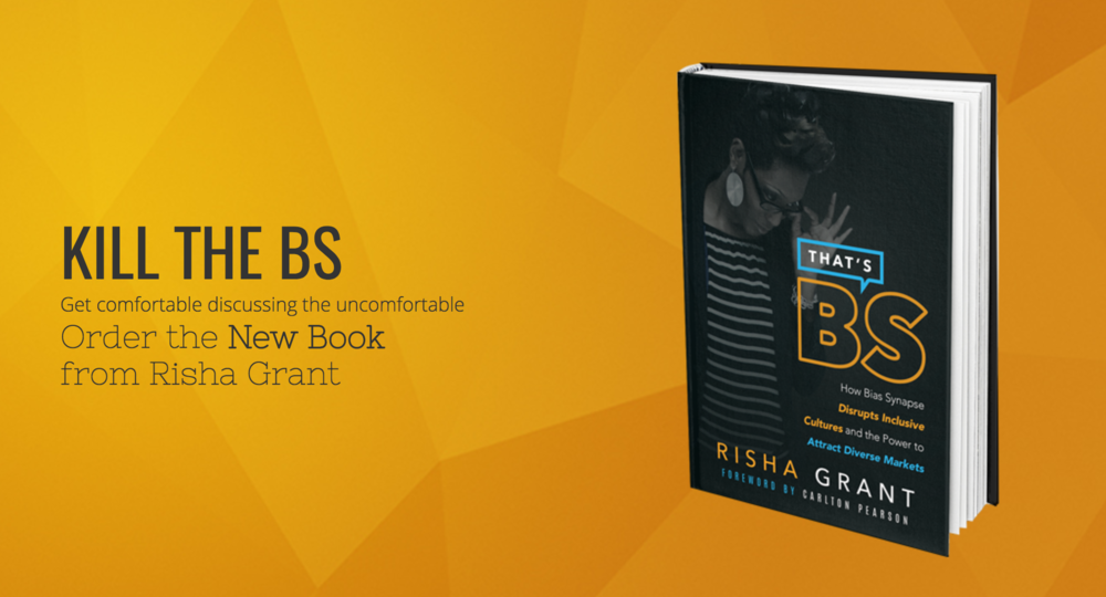Risha Grant is doing brave and necessary work in the community, I learned so much at her workshop and highly recommend her book!