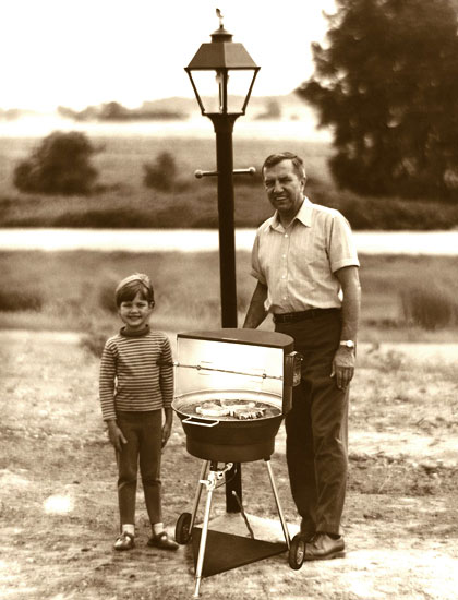 First Outdoor Gas Grill 1960
