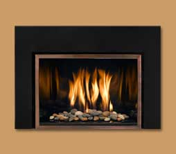 modern fireplace inserts. fire becomes art in mendota fullview modern gas fireplace inserts. their stunning aesthetics are matched by a thoroughly point of view on inserts o