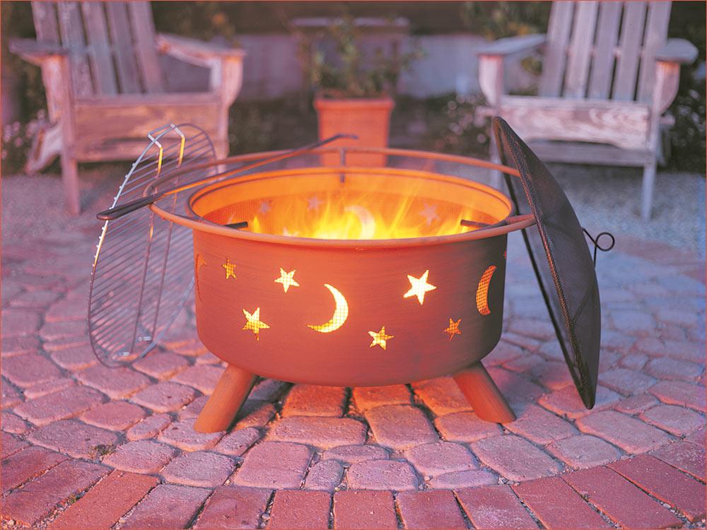 Sojoe stars & moon fire pit