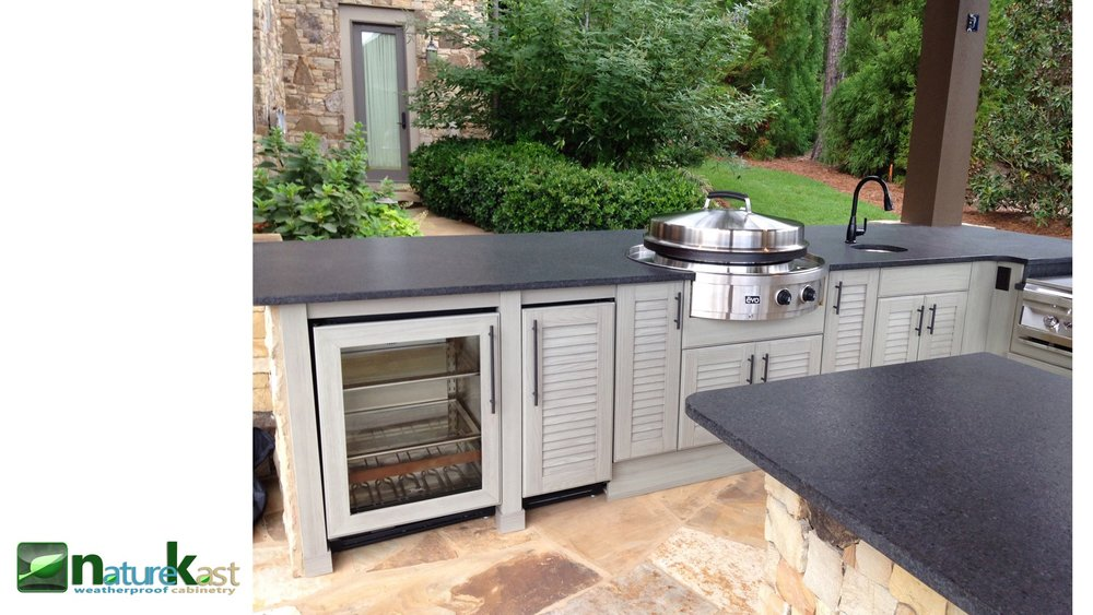 ... Outdoor Kitchens And Our 2017 Additions Should Show We Are Serious  About Maintaining That Legacy. We Are Proud To Introduce Our Weatherproof  Cabinets ...