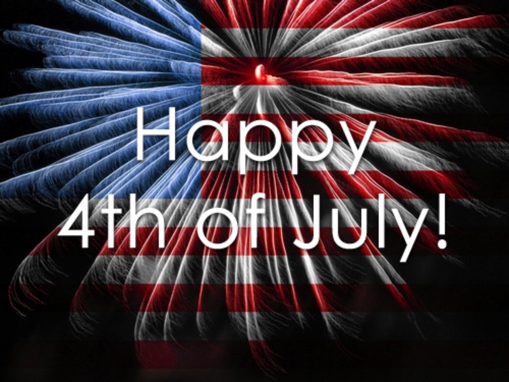 WE ARE CLOSED FOR THE JULY 4TH HOLIDAY!