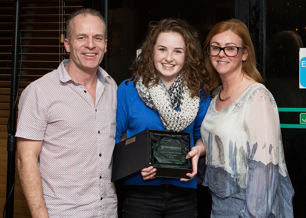 Juvenile Female Athlete of The Year 2015 - Grace McKeever