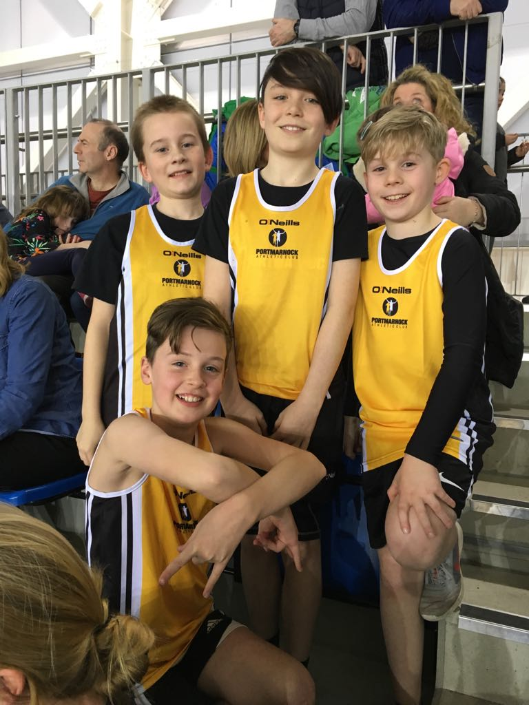 U12 Boys Relay Team
