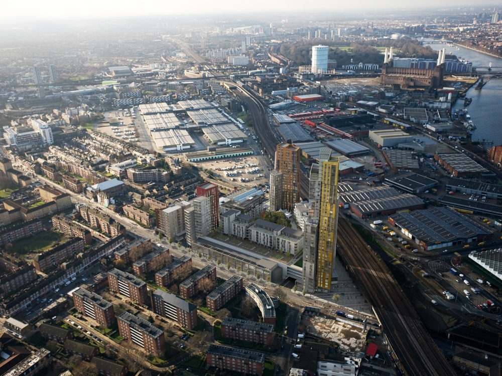 Sainsbury's Development Nine Elms