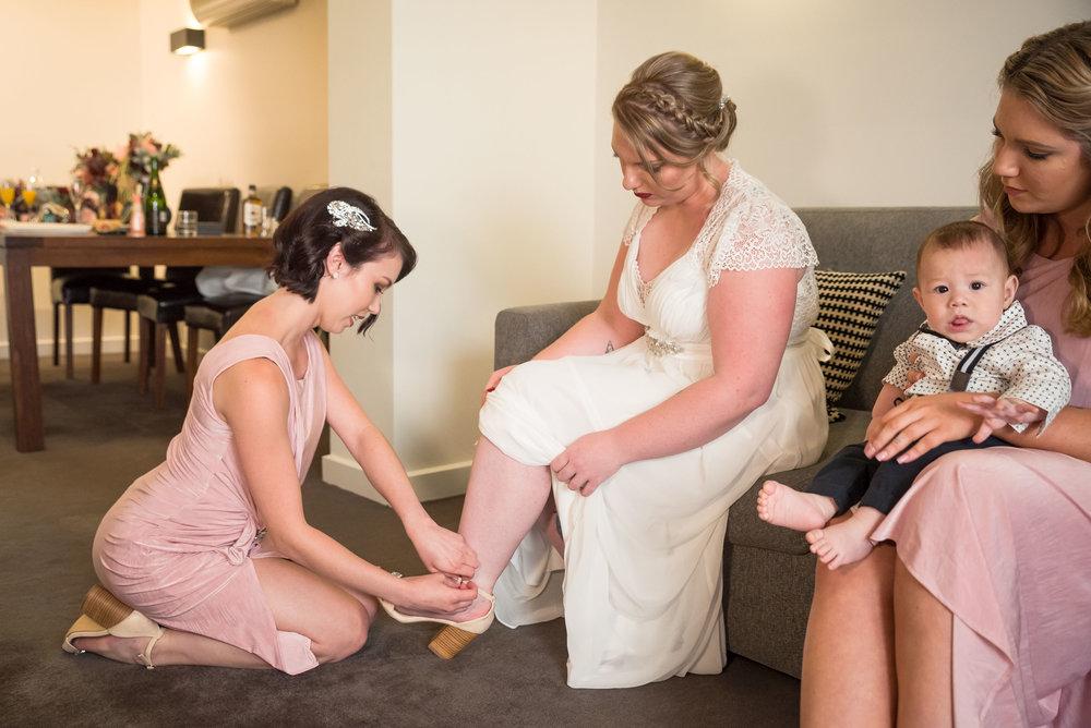 Ellyse & Cameron Howe Wedding Photography Port Melbourne - 18th