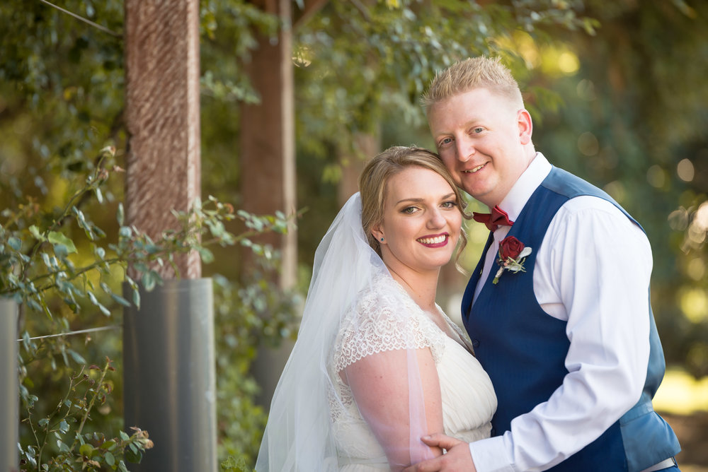 Ellyse & Cameron Howe - Wedding Photography at St Kilda Botanical Gardens, St Kilda, Victoria, Australia - 18th March 2017