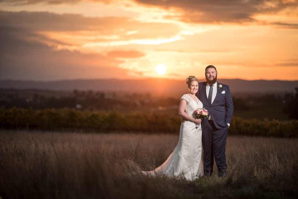 Leah & Grant Smith Wedding Photography at Riverstone Estate, Col