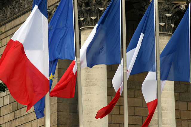 French flags. Picture copyrighs: Quinn Dombrowski on flick (CC BY-SA 2.0)