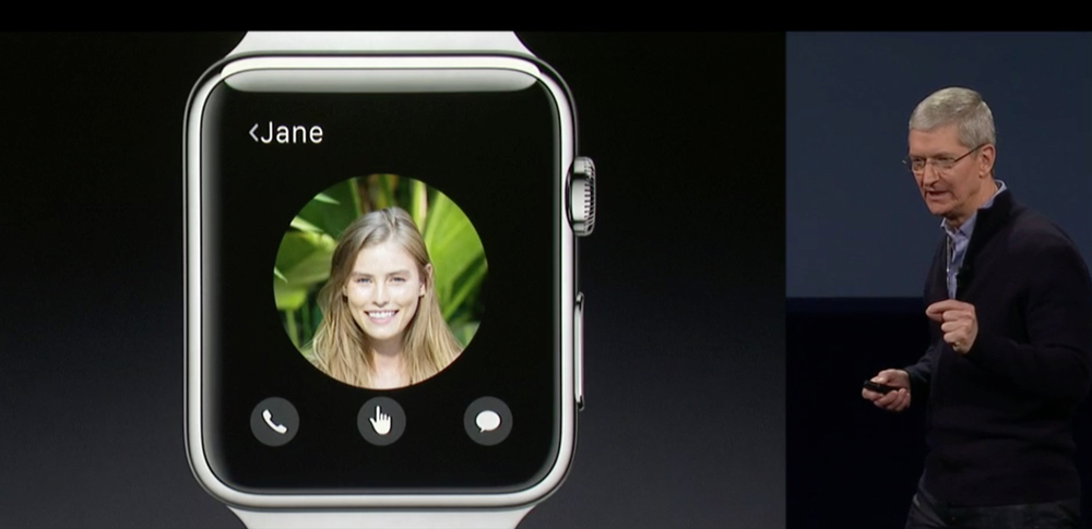 Apple CEO Tim Cook talks about Apple Watch at today's Spring Forward Event