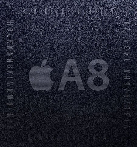 """Apple A8 system-on-a-chip"" by Henriok - Own work. Licensed under CC0 via Wikimedia Commons"