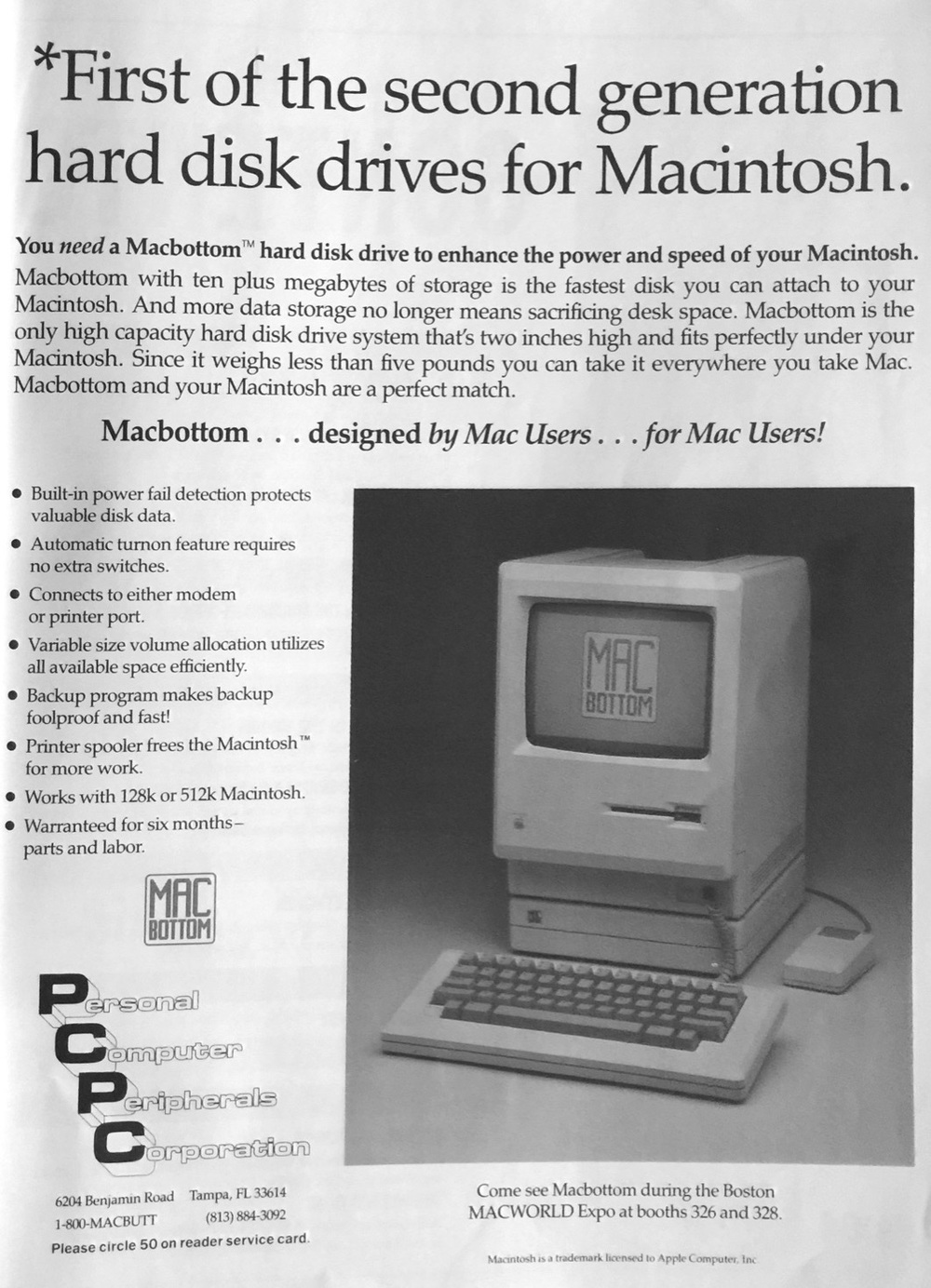 CLICK TO EXPAND PICTURE. FROM OCTOBER 1985 ISSUE OF MACUSER MAGAZINE