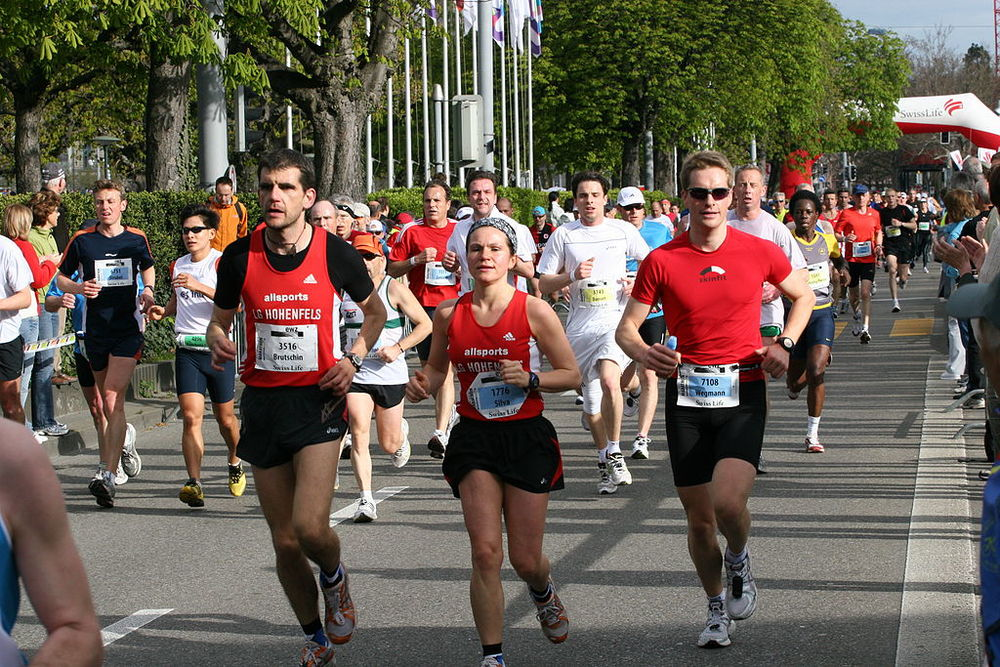 By Chris Brown (originally posted to Flickr as Marathon Runners) [ CC BY 2.0 ], via Wikimedia Commons
