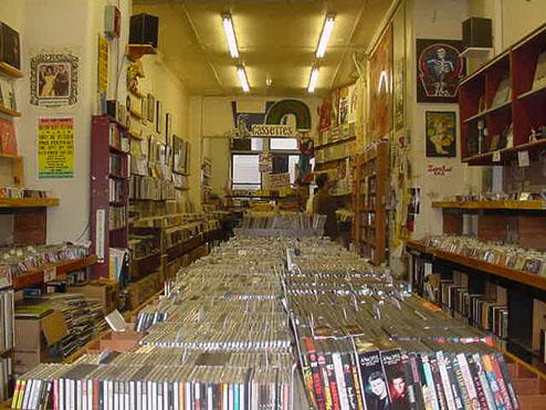 The old Looney Tunes Records in Boston