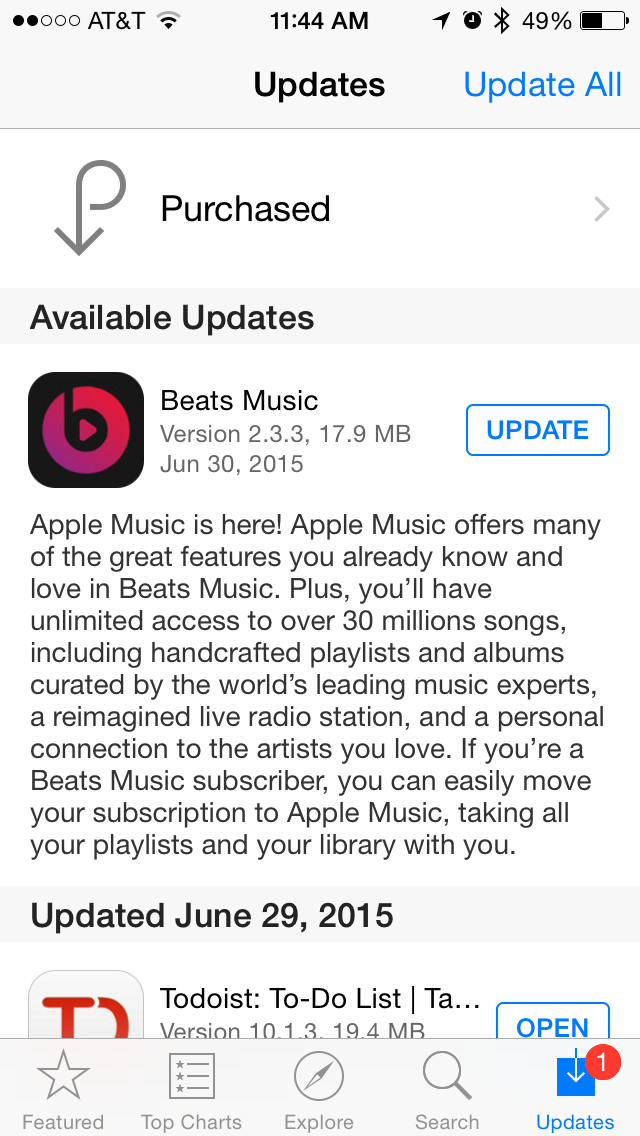 Move your Beats Music membership to Apple Music