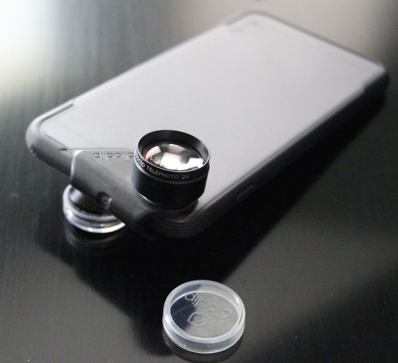 Olloclip ollocase and active lens. Photo ©2015 steven sande, all rights reserved.
