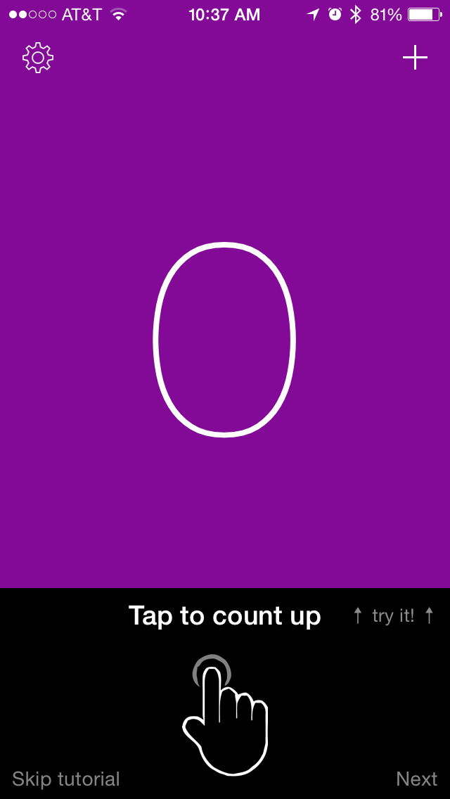Simple Counter is a great tally app for iPhone and iPad
