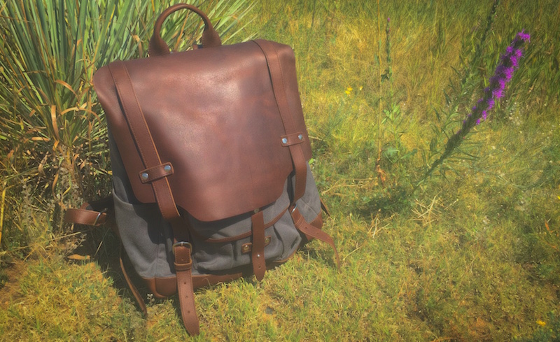 Pad & Quill Leather Backpack. Photo ©2015, Steven Sande. All rights reserved.