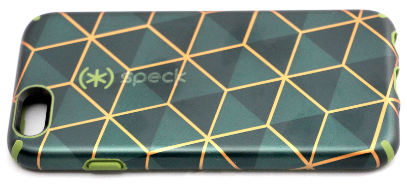 "Speck CandyShell Inked Luxury case in ""Stacked Cube Green"""