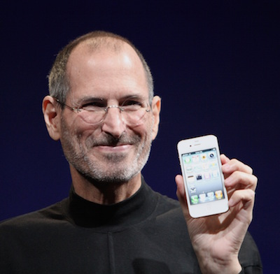 """Steve Jobs Headshot 2010-CROP"" by Matthew Yohe. Licensed under CC BY-SA 3.0 via Wikimedia Commons"