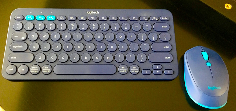 Logitech K380 Multi Device Bluetooth Keyboard And M535 Bluetooth