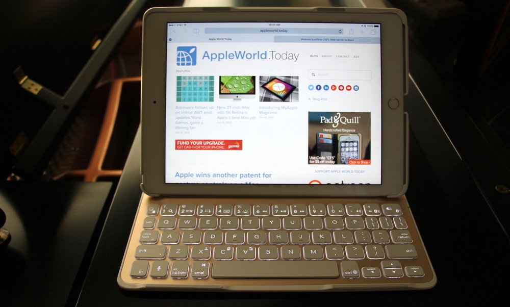 Belkin QODE Ultimate Keyboard for iPad Air 2. Photo ©2015, Steven Sande