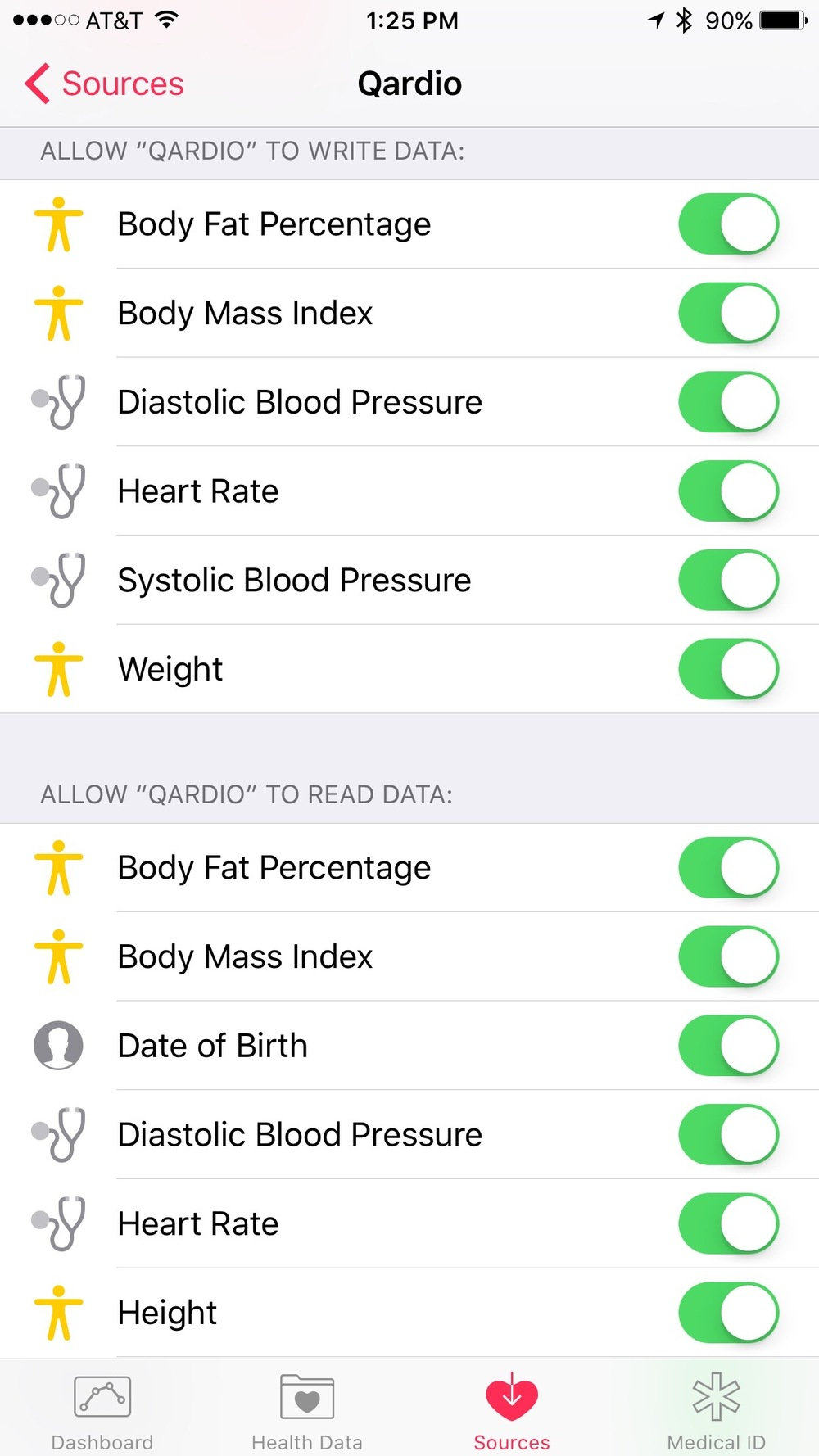 Apple Health Integration