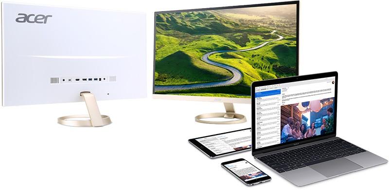 Acer H7 series USB-C monitors