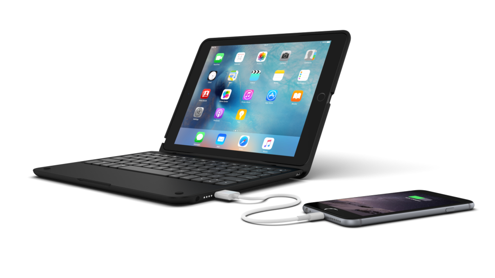 ClamCase+ Power for iPad Air 2. Image courtesy of Incipio.