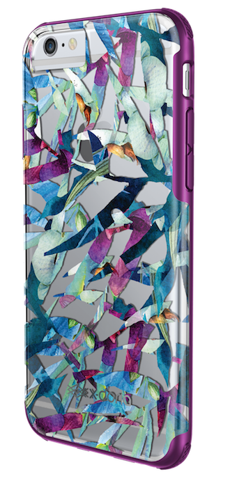 X-Doria Revel case for iPhone 6/6s in Floral Palm finish. Image courtesy of X-Doria.