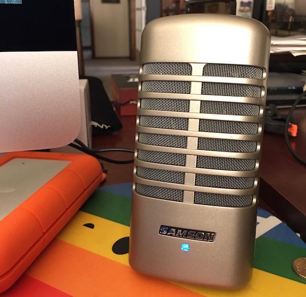 Samson Meteor M2 Speaker System (right speaker). Photo©2016, Steven Sande