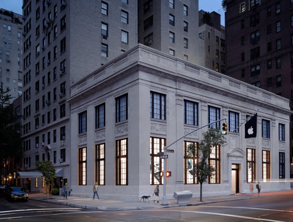Apple Store, Upper East Side. Photo via Apple