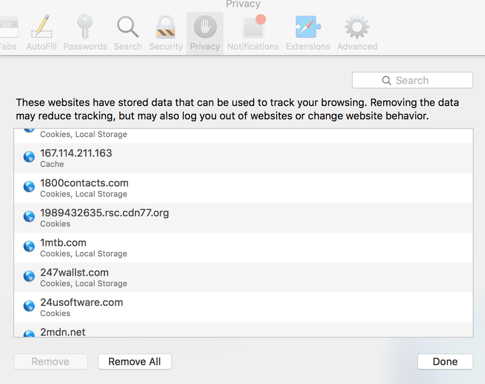 Data For That How To Clear Safari How To Enable Cookies