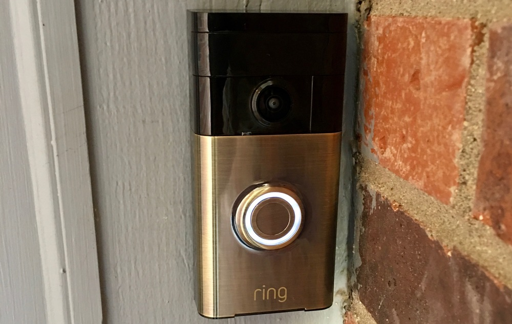 Ring video doorbell. photo ©2016 steven sande