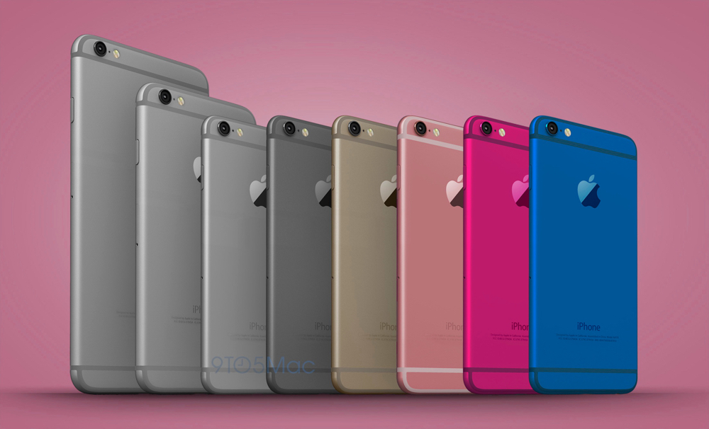 This mockup of an expanded iPhone line-up is courtesy of devicegeek.blog.