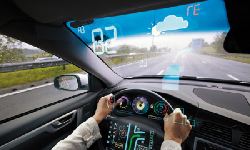 Navigation systems today provide all sorts of data on a vehicle's current position and its surroundings (photo courtesy of  iav.com ).