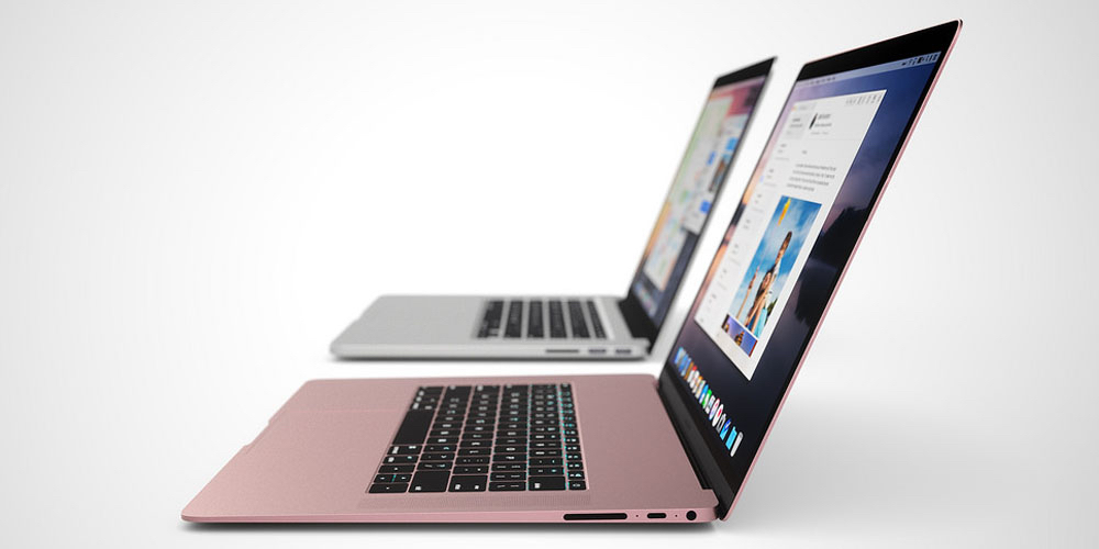 "This mock-up of ""ultra-thin"" MacBook Pros was created by Andrew Ambrosino and spotted at 9to5Mac.com"