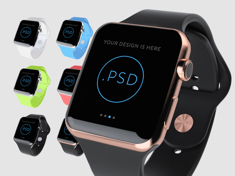 This Apple Watch mock-up is courtesy of Super Crowds, Inc