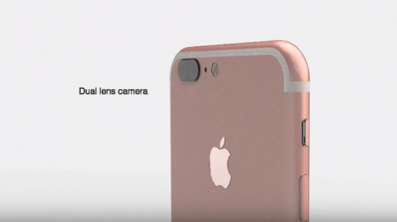 Will the iPhone 7 feature dual lens cameras with optical zoom?YouTube / ConceptsiPhone