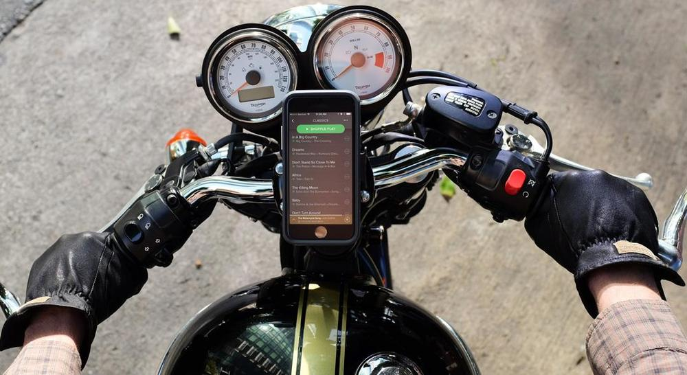 Moshi Endura Case and Handlebar Mount