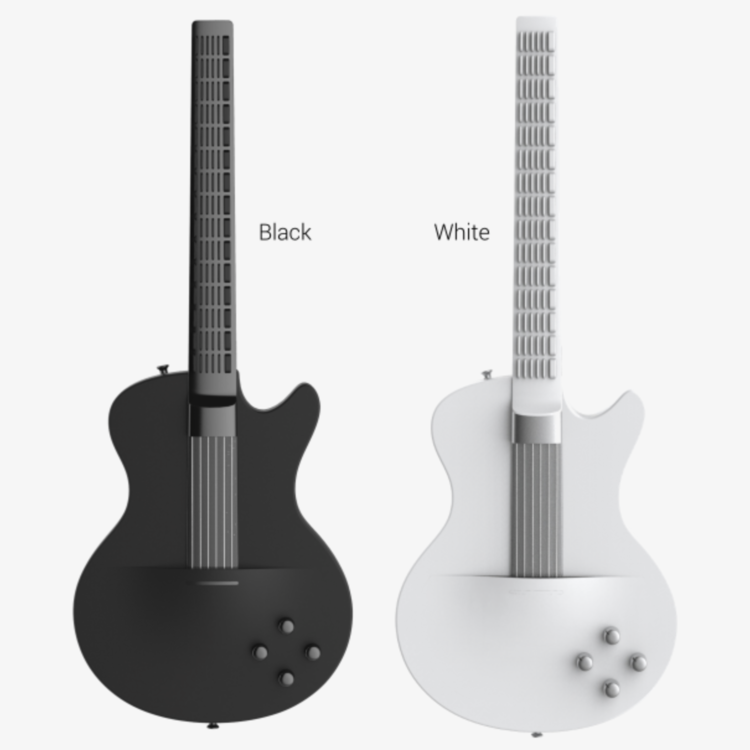 MI Guitar: The app-powered guitar that anyone can play — Apple World ...