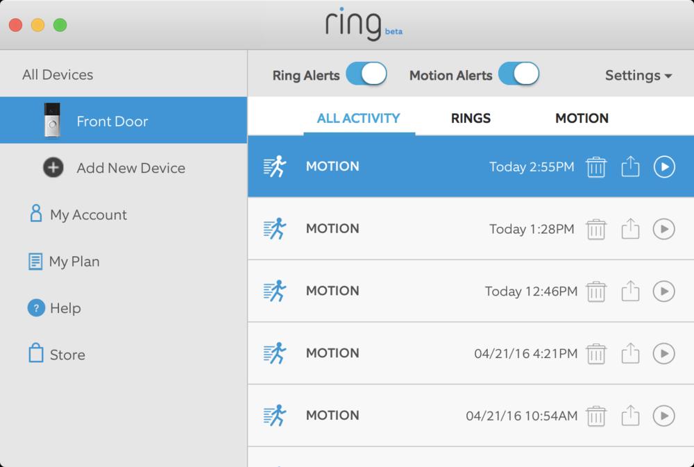 86 Door Bell App RingTM Wi Fi Enabled Video
