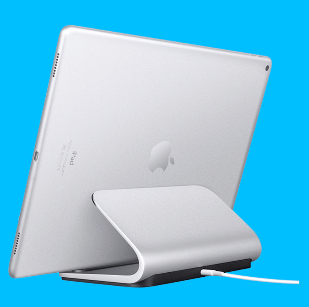 5d678414553 Logitech's Logi Base charges the iPad Pro via the tablet's Smart Connector