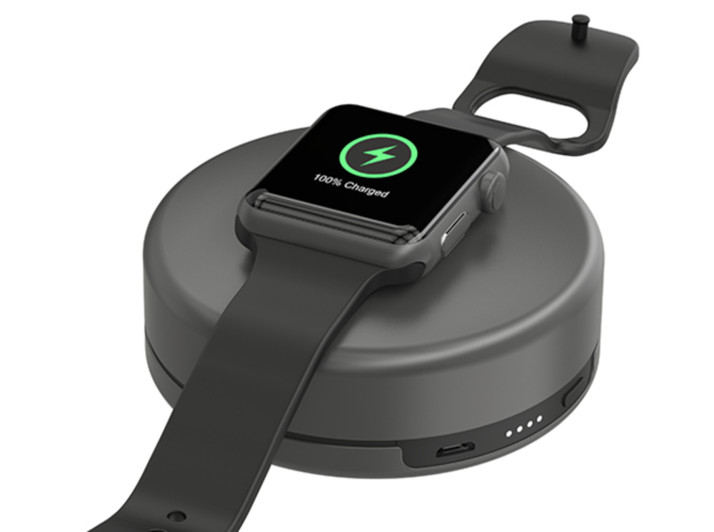 Nomad Pod Portable Apple Watch Battery Pack - just $33.95