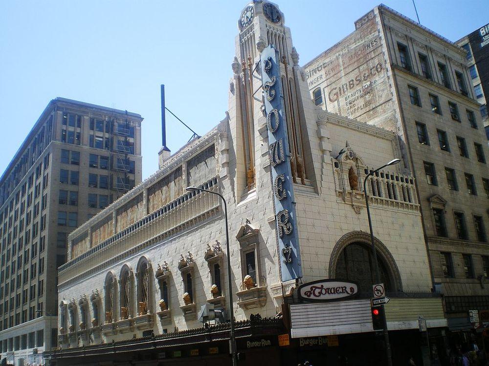 LA's Historic Tower Theatre -Image via Wikimedia ( CC_BY_SA3.0 )