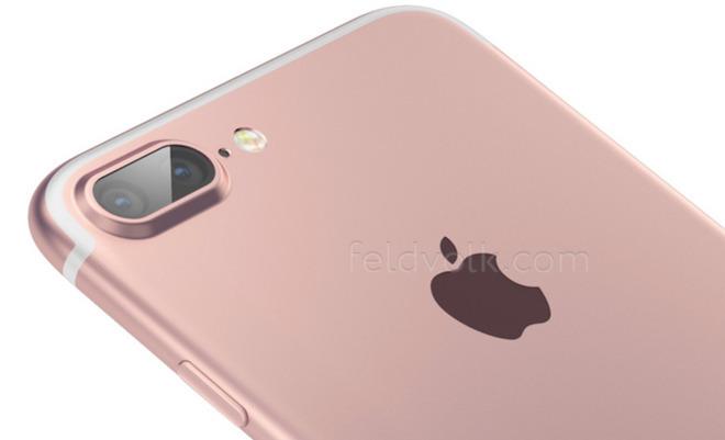 """iPhone 7 Plus"" dual camera design mockup by Feld & Volk."