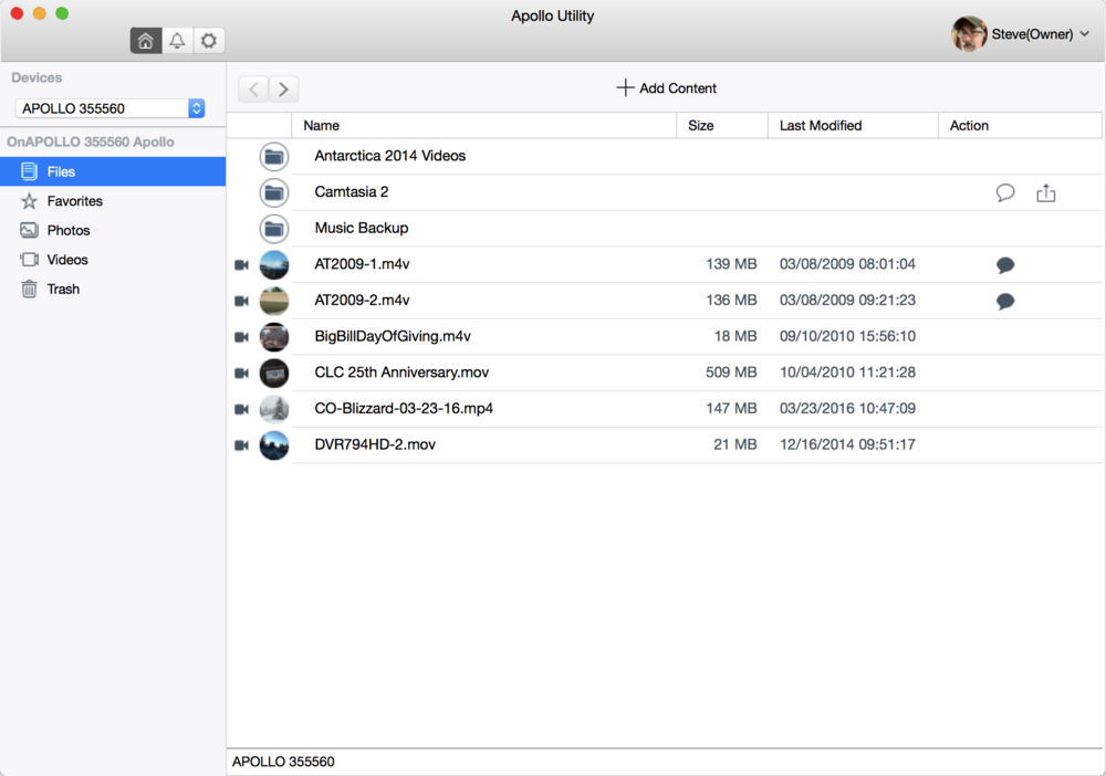 Apollo Utility for Mac