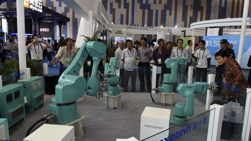 Foxconn robot workers!